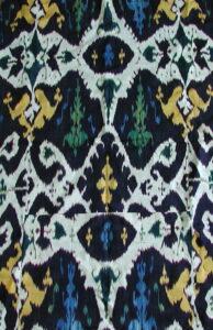 Antique Ikat Uzbekistan 19th Century