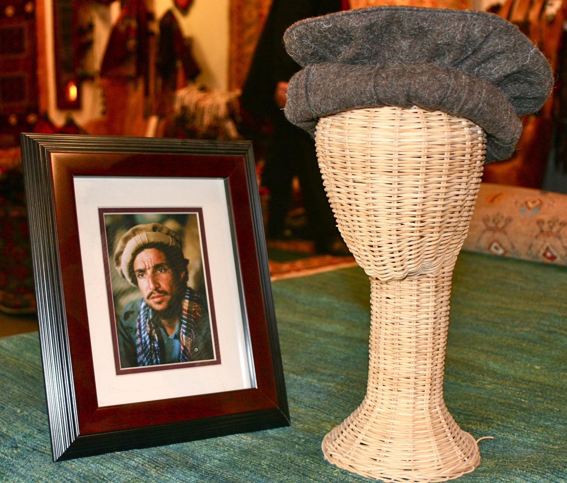 Pakul Afghanistan Ahmad Shah Masood Wool Hat Warlords