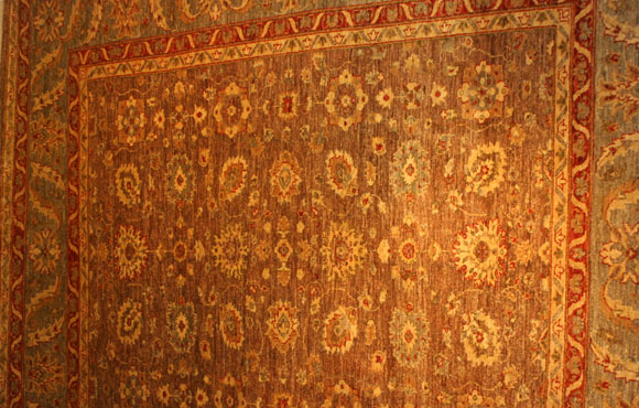 Rug Carpet Vegetable Dyes Pakistani