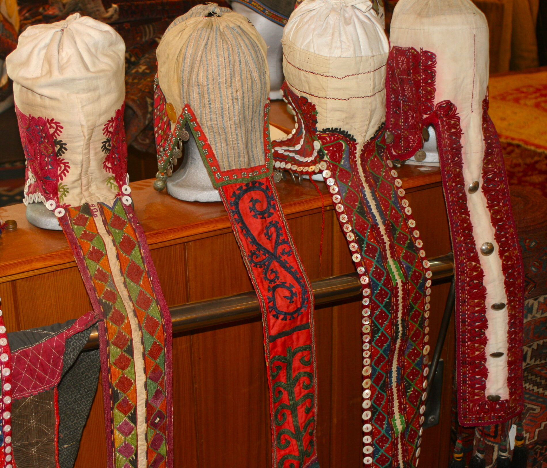Kyrgyz Wedding Hats Antique