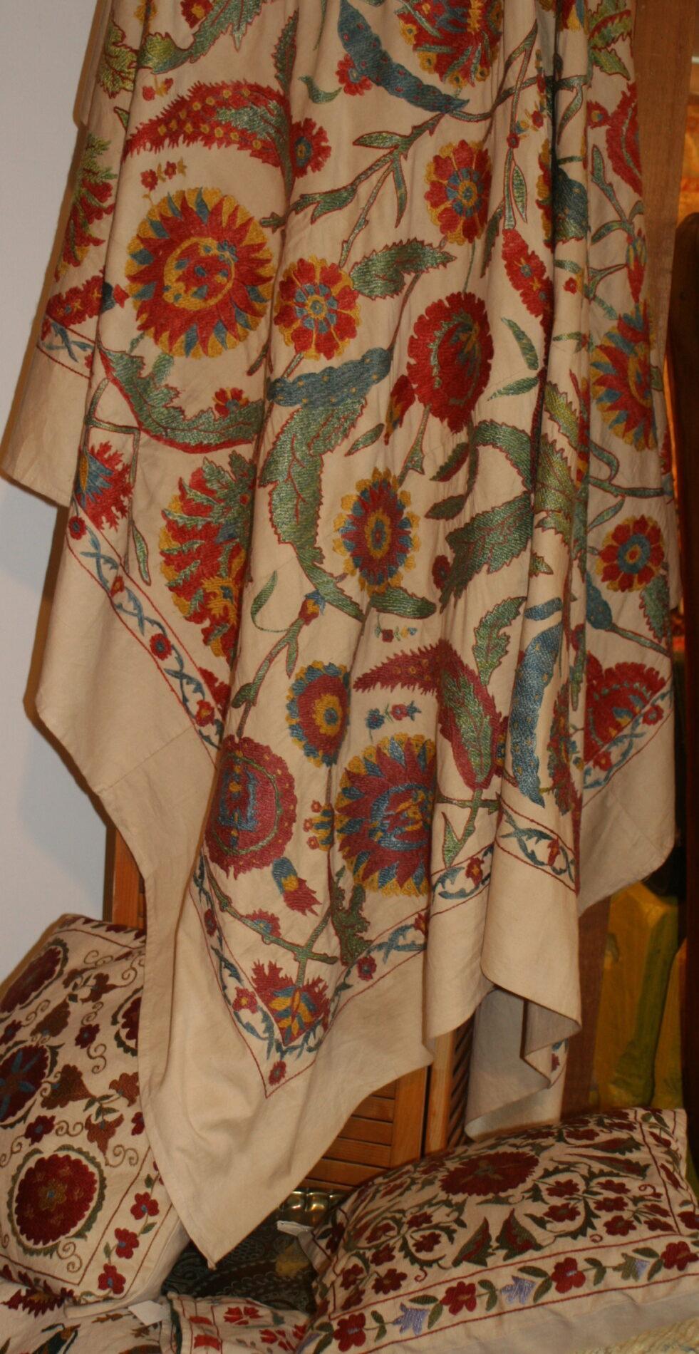 Uzbekistan silk suzani new