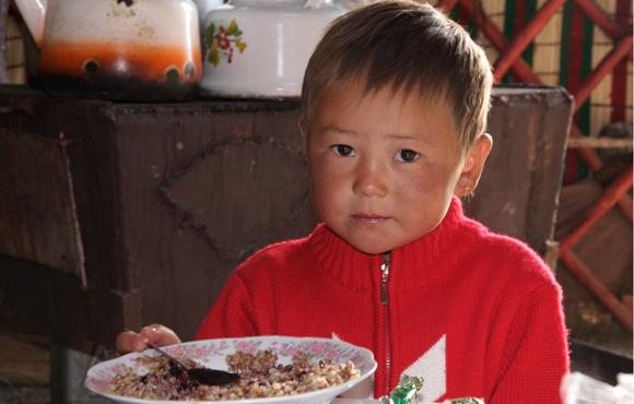 Kyrgyz Child Kyrgyzstan