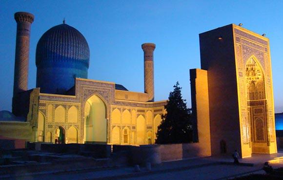 Samarkand Uzbekistan Mausoleum Gul Emir
