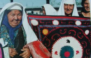 Suzani Urgut market in uzbekistan
