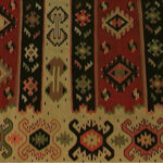 Antique Turkish Kilim flatweave carpet