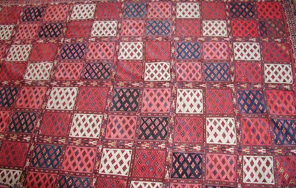 Turkmenistan rug carpet 19th century ersari