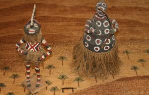 Fetish figure zambia Chechewa Headdress
