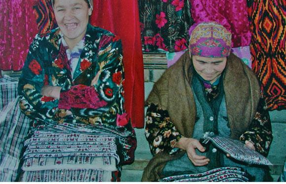 Uzbekistan suzani textiles market