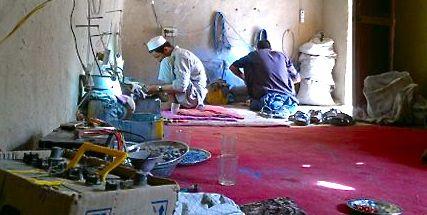Lapis Lazuli Tribal Jewelry Afghanistan