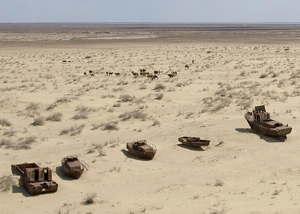 Boats on Sand–Aral Sea Disaster