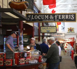 Indoor Market in Saint John. © Sharon Lundahl