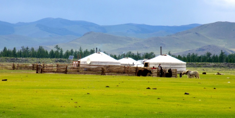 """""""Gers"""" and """"Yurts"""" in Mongolia"""