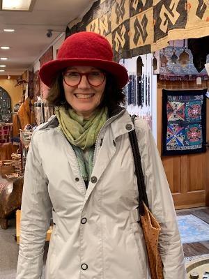 Tibetan felt hat